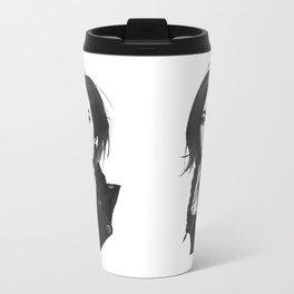 Fashion Illustration - Leather Jacket Travel Mug