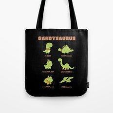 DANDYSAURUS - Dark Version Tote Bag
