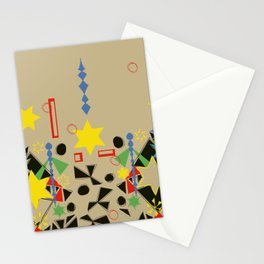 Primaries Stationery Cards