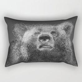 Sacred Bear Rectangular Pillow