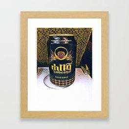 Ethiopian Beer Framed Art Print