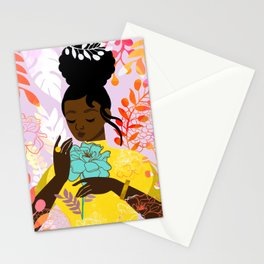 Marigold in October Stationery Cards