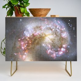 Pixel Nebula Credenza