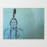 usa Canvas Prints featuring usa by humanoid