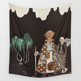 kay nielsen when he had walked one day Wall Tapestry