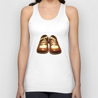 shoes Tank Tops featuring Shoes by Kimball Gray
