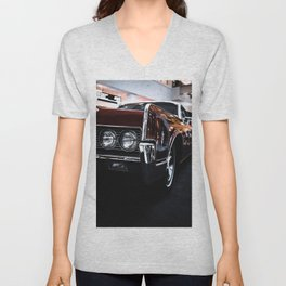 Car headlight 4 Unisex V-Neck