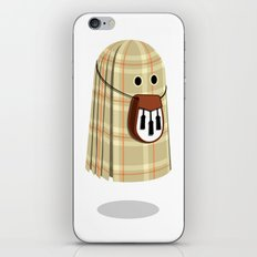 Plaid ghost iPhone & iPod Skin