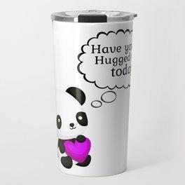 Panda Hug Time Travel Mug