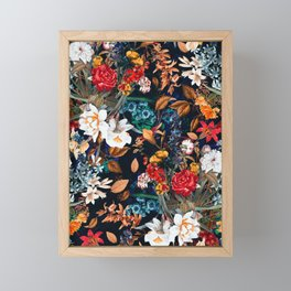 EXOTIC GARDEN - NIGHT XXII Framed Mini Art Print