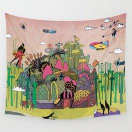 L'échapée des forets Wall Tapestry