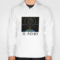 radio Hoodies featuring Radio by Ken Coleman
