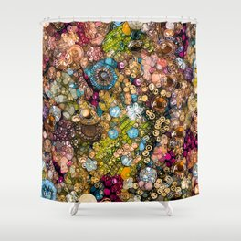 Autumn's Treasure Box Shower Curtain