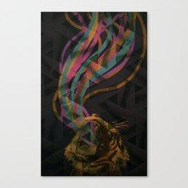 sour puss Canvas Print