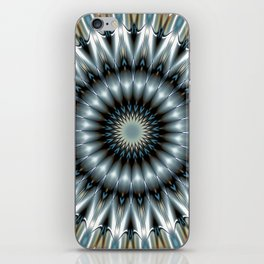 Metallic Mandala iPhone Skin