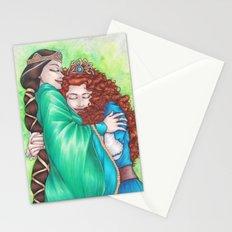 Merida and Elinor Stationery Cards