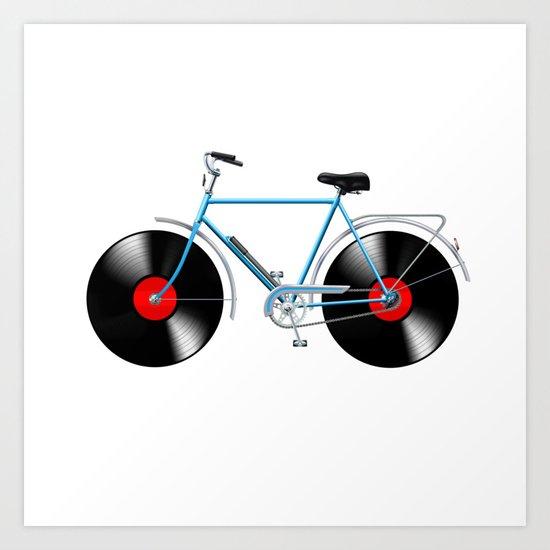Simphony Bike Art Print