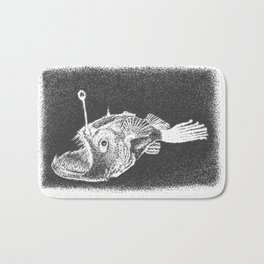 Anglerfish Bath Mat