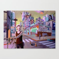 So Much of Nobody Canvas Print