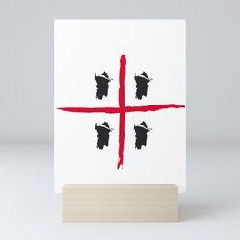 Sardegna, 4 volte Mini Art Print