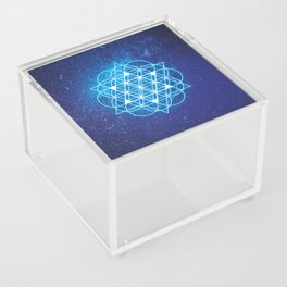 Sacred Geometry Acrylic Box