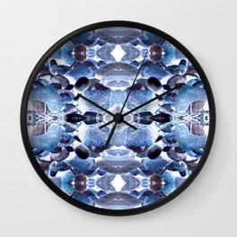 Jewelled Rocks Wall Clock