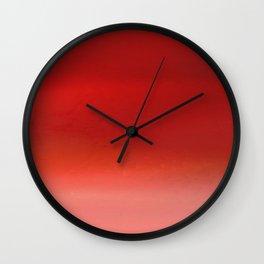 Sandstorm II Wall Clock