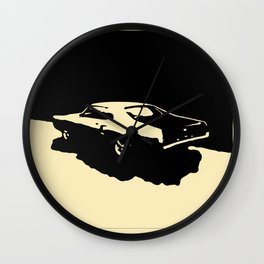 Mercury Marauder, Black on cream Wall Clock
