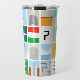 Budapest colors Travel Mug