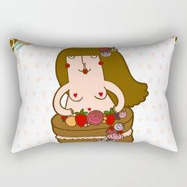 Naked Cake Rectangular Pillow