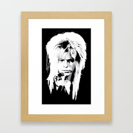 I move the stars for no one Framed Art Print
