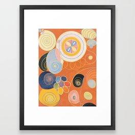 Hilma Af Klint Group IV No 3 Framed Art Print