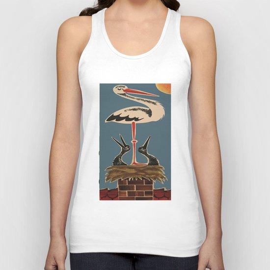 Stork Longshanks Unisex Tank Top