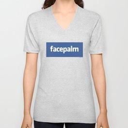 Facepalm Unisex V-Neck