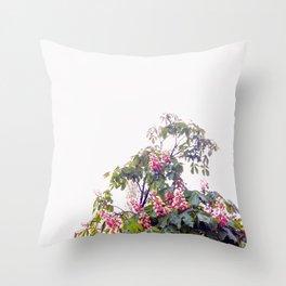 Floral#2 Throw Pillow