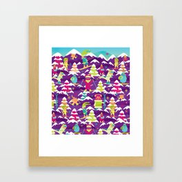 Fresh Meowder Framed Art Print