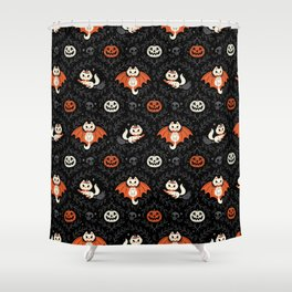 Spooky Kittens Shower Curtain