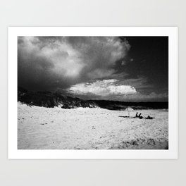 Doomsday Beach Art Print
