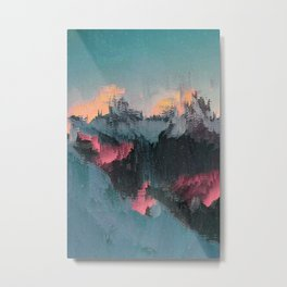 Glitched Landscapes Collection #1 Metal Print