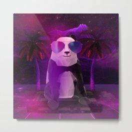 Panda Metal Print
