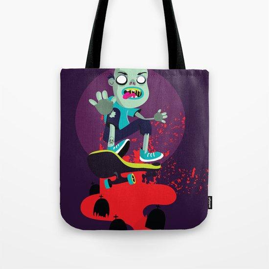 Skater zombie Tote Bag