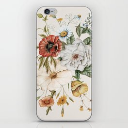 Wildflower Bouquet iPhone Skin