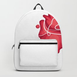Recycle AB+ Doctor or Surgeon Gift Backpack