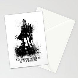 Lightning Ink Blot Stationery Cards