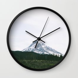 Mount Hood XV Wall Clock