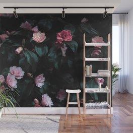Natural Flower Pattern Wall Mural