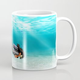 Female S.C.U.B.A. Diver Coffee Mug