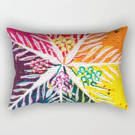 Leaves on the World Tree: The Arab Date Palm Rectangular Pillow