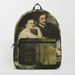 Edouard Manet - Luncheon On The Grass Backpack