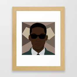 It's Something Framed Art Print